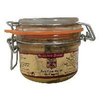 Pate - Terrine - Rillette En Conserve Foie Gras Entier de Canard - 125 g