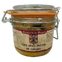 Pate - Terrine - Rillette En Conserve Foie Gras Entier de Canard du Sud Ouest - 180 g