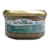 Pate - Terrine - Rillette En Conserve LES PLATS DU GITE Pate d'Huitres aux Algues - 120 g