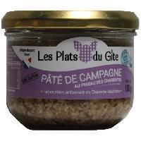 Pate - Terrine - Rillette En Conserve LES PLATS DU GITE Pate de Campagne au Pineau - 180 g