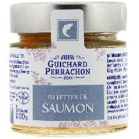 Pate - Terrine - Rillette En Conserve Rillette de saumon - 100 g