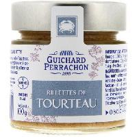 Pate - Terrine - Rillette En Conserve Rillette de tourteau - 100 g