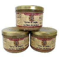 Pate - Terrine - Rillette En Conserve Sanglier Genievre - 3 x 180 g