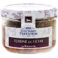 Pate - Terrine - Rillette En Conserve Terrine lievre romarin - 180 g