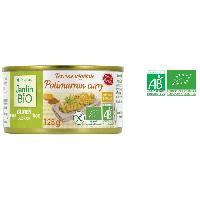 Pate - Terrine - Rillette En Conserve Terrine vegetale potimarron curry sans gluten bio - 125 g