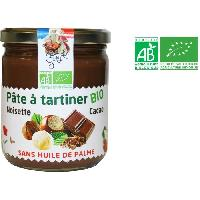 Pate A Tartiner Pate a Tartiner Noisettes et Cacao - Bio - 400 g