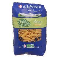 Pates - Riz - Cereales - Legumes Secs ALPINA SAVOIE penne Bio - 500g