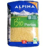 Pates - Riz - Cereales - Legumes Secs ALPINA SAVOIE perles Bio - 500g