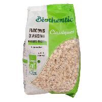 Pates - Riz - Cereales - Legumes Secs BIOTHENTIC Flocons d'avoine 500 g - Generique