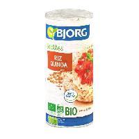 Pates - Riz - Cereales - Legumes Secs BJORG Galette Quinoa Bio 130g