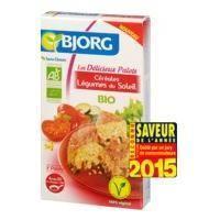 Pates - Riz - Cereales - Legumes Secs BJORG Palets Céréales légumes Soleil Bio 200g
