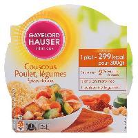 Pates - Riz - Cereales - Legumes Secs Couscous aux epices 300g