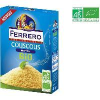 Pates - Riz - Cereales - Legumes Secs Couscous moyen bio - 400 g