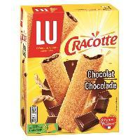 Pates - Riz - Cereales - Legumes Secs Cracotte Fourrée Chocolat 200g - Lu