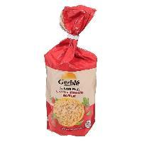 Pates - Riz - Cereales - Legumes Secs GERBLÉ Galettes mais saveur tomate basilic 123.5 g - Gerble