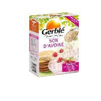 Pates - Riz - Cereales - Legumes Secs GERBLE Son d'avoine. riche en fibres et magnésium - 400 g