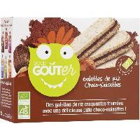 Pates - Riz - Cereales - Legumes Secs GOOD GOUT Galettes de Riz Chocolat / Noisette - 120g