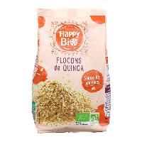Pates - Riz - Cereales - Legumes Secs HAPPY BIO Flocons de quinoa bio - 350 g