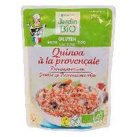 Pates - Riz - Cereales - Legumes Secs JARDIN BIO Quinoa provencal bio - 220g - Marque Nationale