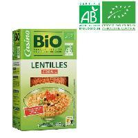 Pates - Riz - Cereales - Legumes Secs LENTILLE CORAIL 500G CO BIO -X24-