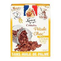 Pates - Riz - Cereales - Legumes Secs LUCIEN GEORGELIN Céréale Pétale Choc' a la Poudre de Cacao - 375 g