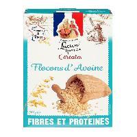 Pates - Riz - Cereales - Legumes Secs LUCIEN GEORGELIN Céréales Flocons d'Avoine - 500 g