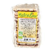 Pates - Riz - Cereales - Legumes Secs MOULIN DES MOINES Galettes de blé bio - Nappées de chocolat et de châtaigne - 150 g