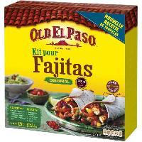 Pates - Riz - Cereales - Legumes Secs OLD EL PASO Kit Fajitas Original - 500 g