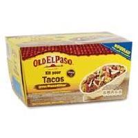 Pates - Riz - Cereales - Legumes Secs OLD EL PASO Kit de Tacos panadillas - 345 g