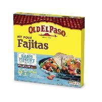 Pates - Riz - Cereales - Legumes Secs OLD EL PASO Kit pour Fajitas - Sans Piment - Oldelpaso