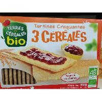 Pates - Riz - Cereales - Legumes Secs Tartines craquantes 3 cerises bio - 150g - Marque Nationale
