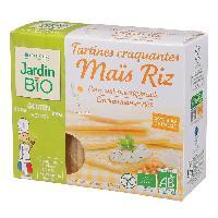 Pates - Riz - Cereales - Legumes Secs Tartines craquantes mais riz bio - 150g - Marque Nationale