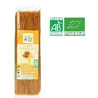 Pates Alimentaires Spaghetti au quinoa curry curcuma bio - 500 g