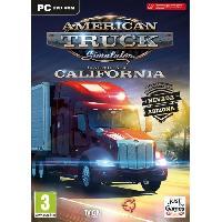 Pc American Truck Simulator - California Starter pack Jeu PC - Just For Games