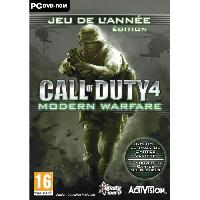Pc Call of Duty 4 Modern Warfare Game of The Year Edition Jeu PC