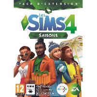 Pc Les Sims 4 - Saisons Jeu PC - Electronic Arts