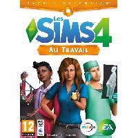 Pc Les Sims 4 Au Travail Jeu PC - Electronic Arts