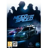 Pc Need For Speed Jeu PC - Electronic Arts