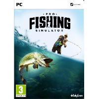 Pc Pro Fishing Simulator Jeu PC - Bigben