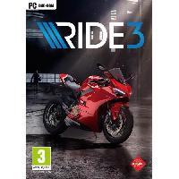 Pc Ride 3 Jeu PC - Bandai Namco Entertainment
