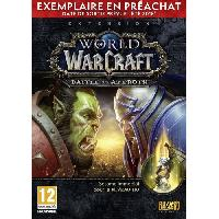 Pc World of Warcraft Extension- Battle for Azeroth Pre-purchase Edition Jeu PC