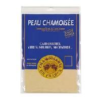 Peaux de Chamois 2x Peau de chamois naturelle 200 - 18.6dm2 - 52x35cm