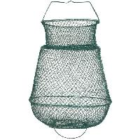 Peche DUDULE Bourriche ovale - Metal - O 35 cm