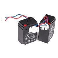 Peche Lot de 2 Batteries Pac Boat au plomb - 6V4.5A