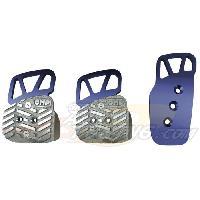 Pedaliers Kit 3 pedales Style bleu