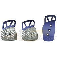 Pedaliers Kit 3 pedales Style bleu - OMP