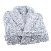 Peignoir - Sortie De Bain  (hors Puericulture) JULES CLARYSSE Peignoir Soft - SM - 100 polyester - Gris