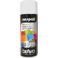 Peinture - Revetement Mur Sol Plafond Aérosol peinture blanc ral9016 teintes vives 400 ml. NESPOLI