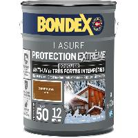 Peinture - Revetement Mur Sol Plafond BONDEX LASURE IND 50 - 12 ANS 5L