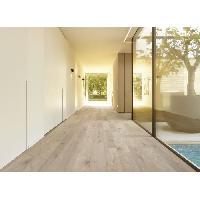 Peinture - Revetement Mur Sol Plafond CORETEC 2.66 m2 - 12 Lames vinyles pvc clipsables 122.2 x 18.2 cm chene blanchi. Sous couche liege. Aucune